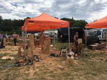 Bärenherz beim Naumburger Holzfest: Mario Judersleben macht's möglich