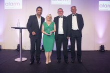 ng homes secure coveted Alarm Risk Community Award