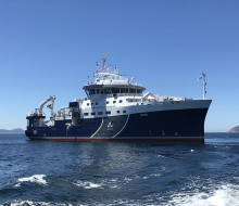 Sveriges nya forskningsfartyg levererat till SLU i Spanien