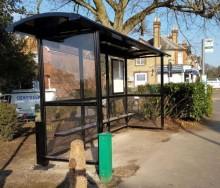 Nya väderskydd till Surrey, England!