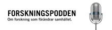 Premiär för Forskningspodden – ny podcast från Högskolan i Borås