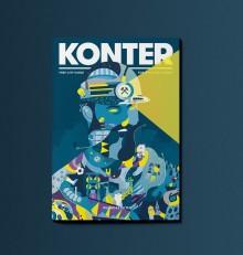 KONTER: Zweite Ausgabe des englischsprachigen Stadtmagazins jetzt erschienen