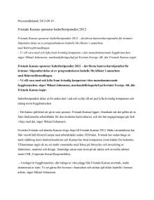 PDF Fristads Kansas sponsrar Isabellestipendiet