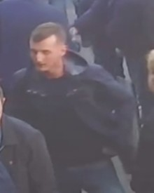Appeal following unprovoked attack on a football fan at Wembley