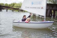 Nu kan alla lära sig segla mitt i Göteborg