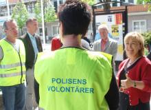 Polisvolontärer förebygger brott