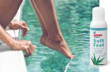 Neuer GEHWOL FUSSKRAFT Soft Feet Schaum: Feuchtigkeitsspendender Effekt, softes Gefühl und frischer Duft für die schnelle Wohlfühlpflege zwischendurch