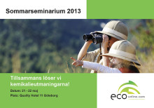 Sveriges viktigaste kemikalieseminarium, Sommarseminarium 2013