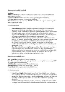 Haleheltvalg 2013 Nominasjonskomité