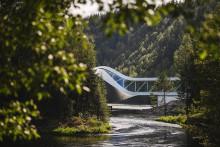 "Neue ""Wendung"" im Kistefos Museum bei Oslo: Spektakulärer Museumsbau ""The Twist"" öffnet im September 2019"
