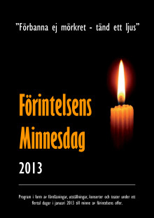Förintelsens minnesdag - program