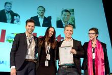 Blocket Bostad utsedd till Årets leverantör 2013 av HusmanHagberg
