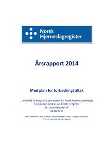 Årsrapport Hjerneslag