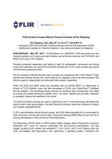 FLIR Unveils Compact Marine Thermal Cameras at Nor-Shipping