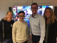 Thoren Framtid Växjö vill utveckla det digitala lärandet med norska storföretaget Kahoot!