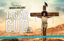 """MARIKA CARLSSON """"JAG ÄR GUD"""" TILL UPPSALA 31/3"""