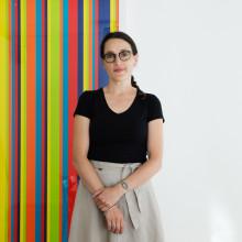 Samira Bouabana, programansvarig på Beckmans är Årets utbildare