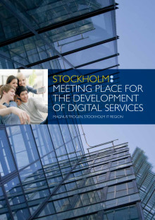 Stockholm: meeting place for the development of digital services