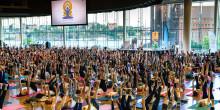Yogobe och Epicenter Stockholm firar Internationella Yogadagen