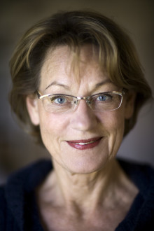 Gudruns Schyman på Feministiskt initiativs valturné