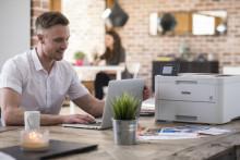 De lydsvage printere lister ind på kontoret