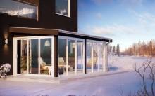 Värmande uterumsnyhet. Vinter Izo lanseras för extra varm vinterträdgård