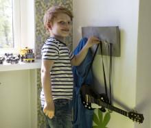 Barnevennlig knaggrekke - Inspirert