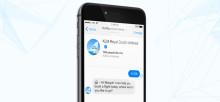 Nå kan KLMs kunder bestille flybilletter via Messenger