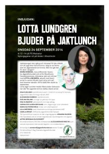 Lotta Lundgren bjuder på jaktlunch