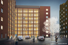 Bygglov klart för 248 studentbostäder i Solna