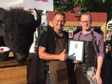 Bisonfärsking från Wrågården och Gräskärrs Vilt vann Matverk Västergötland 2017