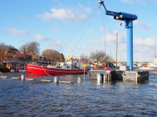 Leca® letklinker kan sikre havneområder mod oversvømmelse