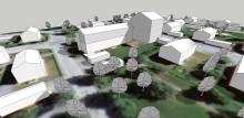 Påbyggnad och ett nytt punkthus på Grubbe