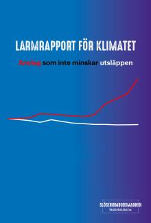Larmrapport för klimatet - anslag som inte minskar utsläppen
