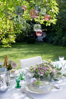 Bryllup, der blomstrer og bobler