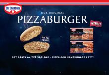 Pizzaburger - det bästa av två världar