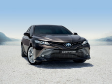 Pressemateriell fra Paris Motor Show: Nye Camry