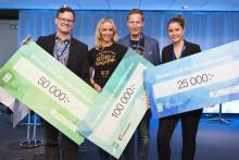 Blixt vann Innovationsrace på Power Circle summit 2018