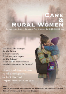 Care & Rural Women, Haros seminarium på CSW i New York 2012