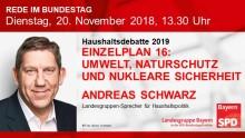 Andreas Schwarz in der Haushaltsdebatte 2019