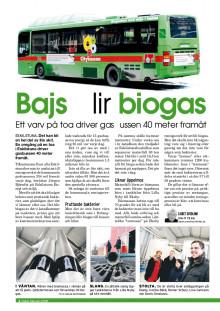 Bajs blir Biogas