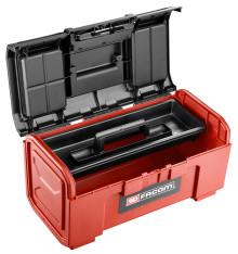 FACOM® Revela nueva caja de herramientas con pestillo de un toque.