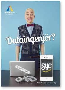 Högskolan i Gävle berättar om vad framtiden behöver i kombinerad varumärkes- och marknadsföringskampanj