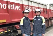 Stena Aluminium gör stora miljövinster med järnvägstransporter