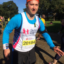 Daisy inspires her uncle to run marathon to raise money for The Sick Children's Trust