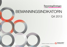 Bemanningsindikatorn Q4 2013