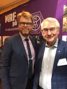 Lennart Börjesson omvald som MRF-ordförande