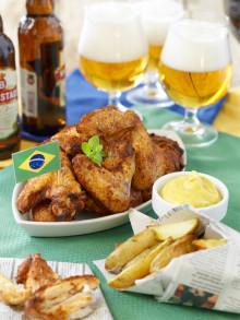 Ladda upp inför fotbolls-VM med Kockens BBQ chicken wings!