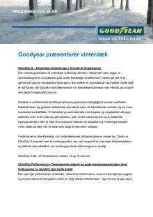 Goodyear præsenterer vinterdæk