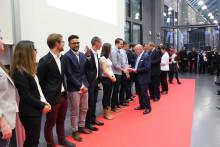 Feierliche Verabschiedung der 725 Absolventinnen und Absolventen des Akademischen Jahres 2016/2017 am 20. Oktober 2017